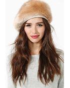 Nasty Gal Eugenia Kim Marion Hat - Lyst