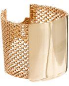 Asos Mesh Bar Bracelet - Lyst