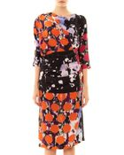 Vivienne Westwood Anglomania Shaman Asymmetric Draped Dress - Lyst