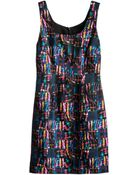 Cynthia Rowley Seamed Tank Dress - Lyst