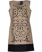 Fontana Couture Short Dress - Lyst
