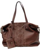 Lucky Brand Satucket Leather Tote Bag - Lyst