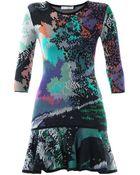 Mary Katrantzou Flick Fauwinding-Print Dress - Lyst