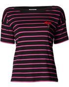 Sonia By Sonia Rykiel Lipstick Striped T-shirt - Lyst