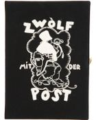 Olympia Le-Tan 'Zwolf' Box Clutch - Lyst