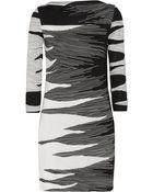 Diane von Furstenberg Ruri Printed Silkjersey Dress - Lyst