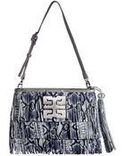 Desti Saint Handbags Maddie Rect Happiness Tassel Bag Liard Python - Lyst