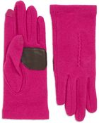 Echo Wool Touch Gloves - Lyst
