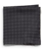 Saks Fifth Avenue Black Label Silk Dotted Pocket Square - Lyst