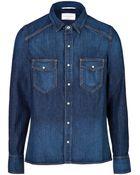 Rag & Bone Denim Shirt - Lyst