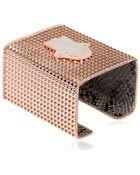 Bisou Bijoux Big Square Cuff Bracelet - Lyst