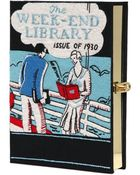 Olympia Le-Tan The Weekend Library Book Clutch - Lyst