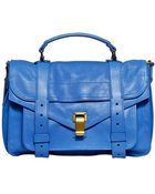 Proenza Schouler Ps 1 Medium Lux Leather Satchel Bag - Lyst