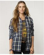Denim & Supply Ralph Lauren Plaid Flannel Shirt - Lyst