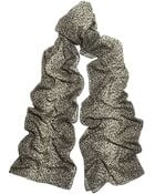 Saint Laurent Printed Cashmere And Silk-Blend Scarf - Lyst