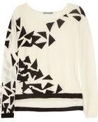 Dagmar Annie Fine Knit Wool Blend Sweater - Lyst