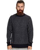 Obey York Sweater - Lyst