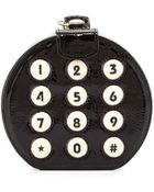 Betsey Johnson Round Phone Dial Clutch - Lyst