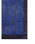 Alexander McQueen Skull Houndstooth Check Print Silk Chiffon Scarf - Lyst