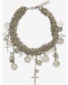 Nasty Gal Goldbarr Montreal Charm Necklace - Lyst