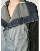 DRKSHDW by Rick Owens Turnover Collar Jacket - Lyst