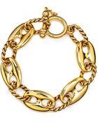 Lauren by Ralph Lauren Chain Link Bracelet - Lyst