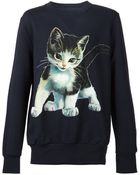 Vivienne Westwood Cat-Print Cotton Sweatshirt - Lyst