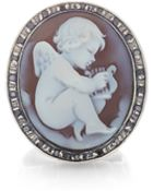 Amedeo Rigato Collection: Cupid Cameo Ring - Lyst