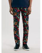 Topman Floral Print Ultra Skinny Fit Trousers - Lyst