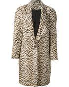 Diane von Furstenberg 'Britta' Overcoat - Lyst