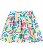 Moschino Printed Cotton Skirt - Lyst