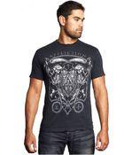 Affliction Death Time T-Shirt - Lyst