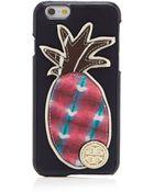 Tory Burch Iphone 6 Case - Robinson Pineapple Hardshell - Lyst