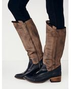 Free People Womens Tritone Tall Boot - Lyst