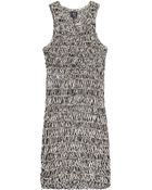 McQ by Alexander McQueen Knitted Cotton Dress - Lyst