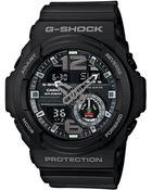 G-Shock Men'S Analog-Digital Chronograph Black Resin Strap Watch 55X52Mm Ga310-1A - Lyst