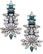 DANNIJO Everly Crystal Drop Earrings - Lyst