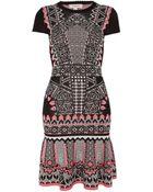 Temperley London Keita Fitted Dress - Lyst