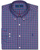 Ralph Lauren Polo Multi-Plaid Dress Shirt - Lyst