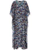 Saloni Zoe Embellished Kaftan Gown - Lyst