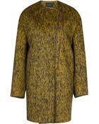 Cedric Charlier Textured Wool Coat - Lyst