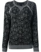 Marc By Marc Jacobs 'Cassidy' Jacquard Sweatshirt - Lyst