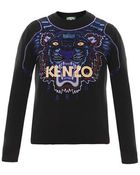 Kenzo Tiger Embroidered Sweater - Lyst