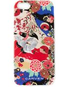 Carven Japanese Print Iphone 5/5S Case - Lyst