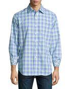 Robert Graham Baker Street Check Sport Shirt - Lyst