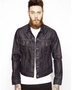 Edwin Denim Jacket Buddy Rinsed - Lyst