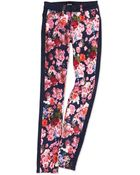 Hudson Leeloo Floral-Print Skinny Jeans - Lyst