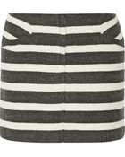 Maje Geste Striped Woven Mini Skirt - Lyst