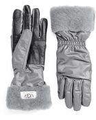 Ugg Ladies Shearling Sheepskin Cuffed Gloves - Lyst