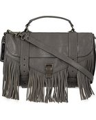 Proenza Schouler Leather Satchel Bag - For Women - Lyst